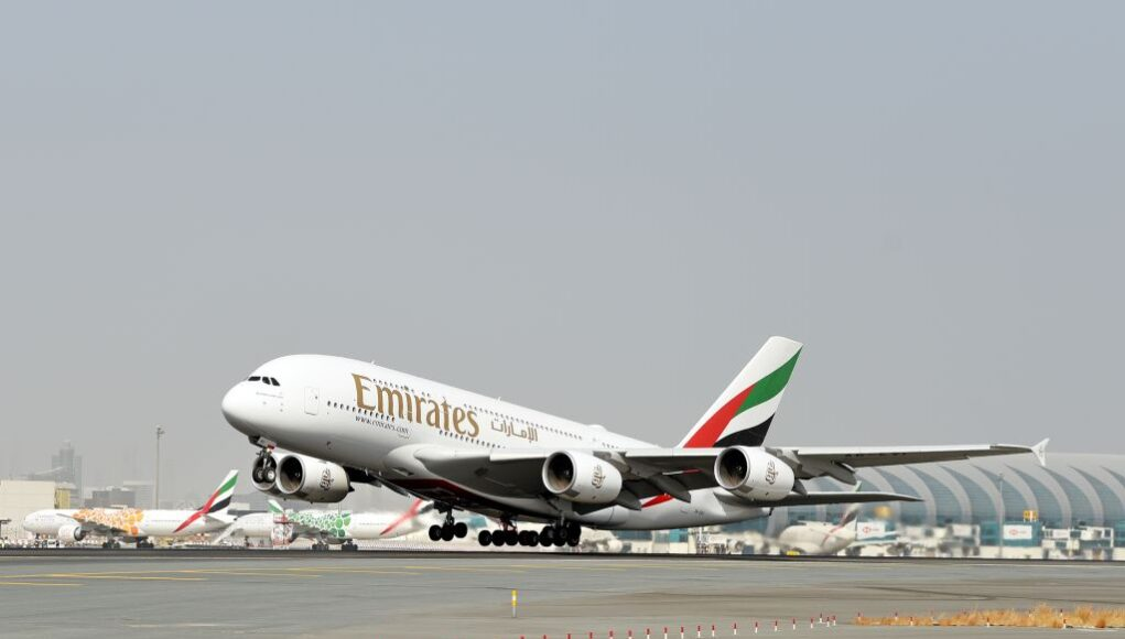 Emirates A380 flights resume