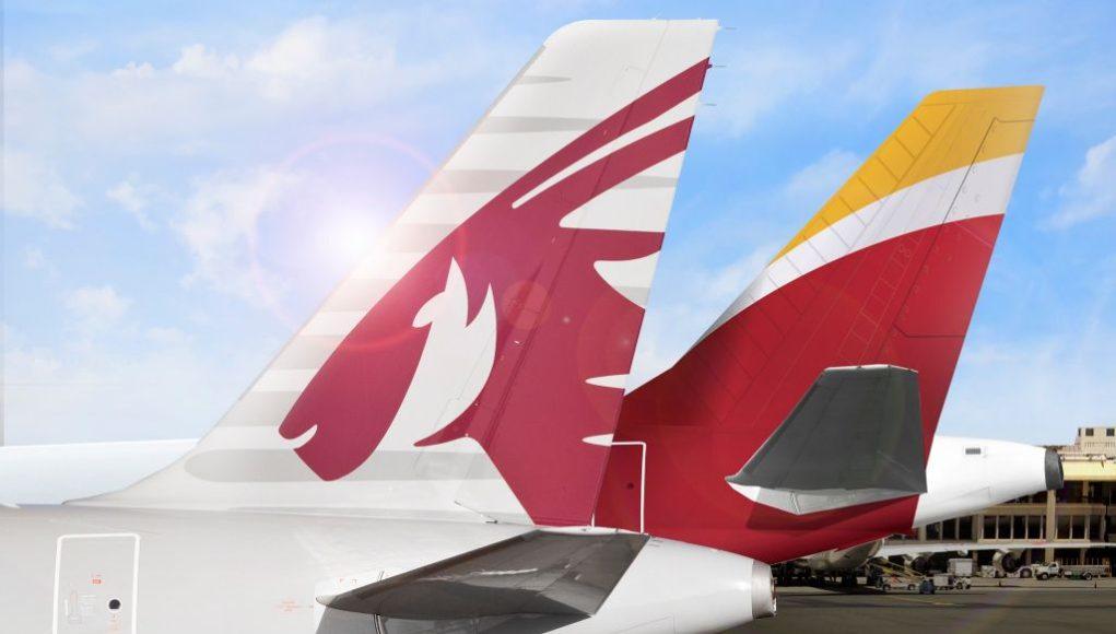 Qatar Airways Iberia codeshare