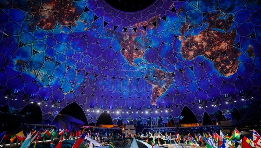 Expo Dubai opening ceremony